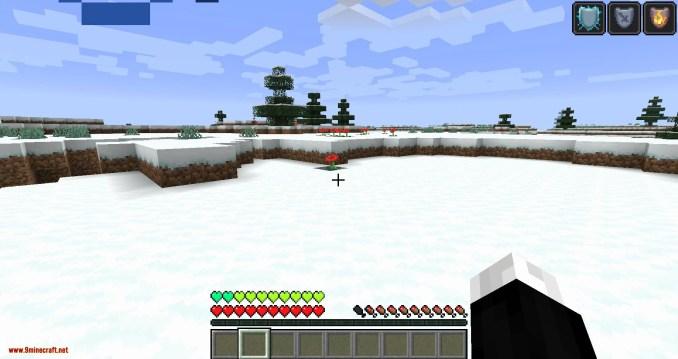 Health Overlay mod for minecraft 04