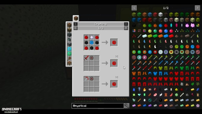 Mystical Agriculture Mod Crafting Recipes 13