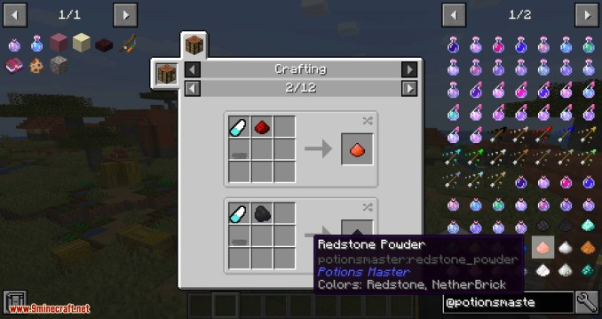 Potions Master mod for minecraft 05