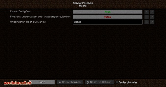 RandomPatches mod for minecraft 07