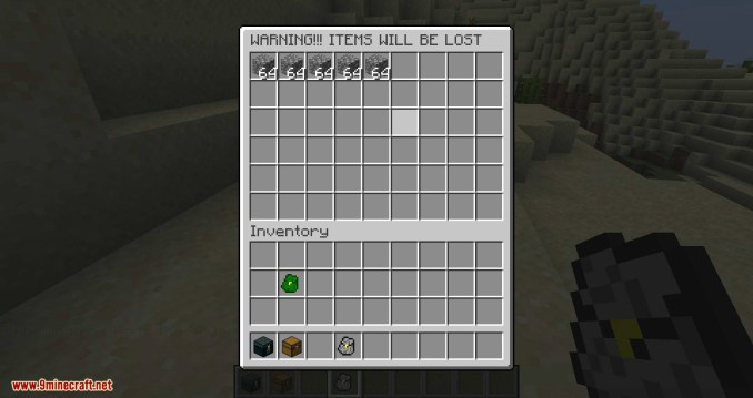Simple Backpack mod for minecraft 07