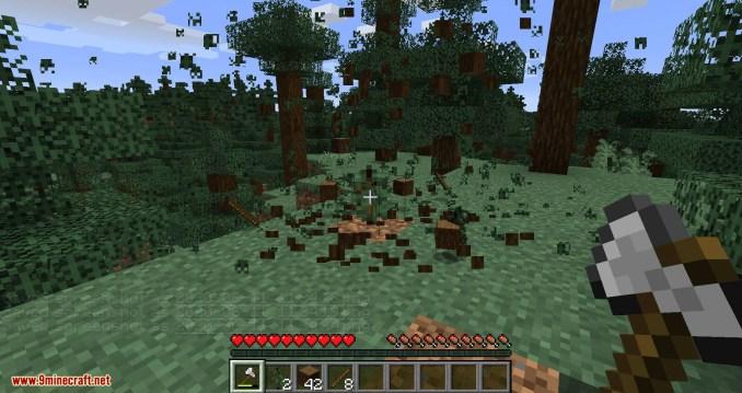 Tree Harvester mod for minecraft 06