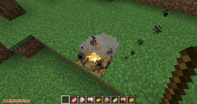 Campfire Torches mod for minecraft 07