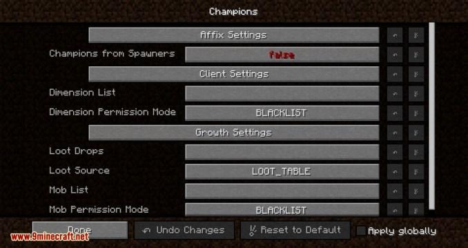 Champions mod for minecraft 01