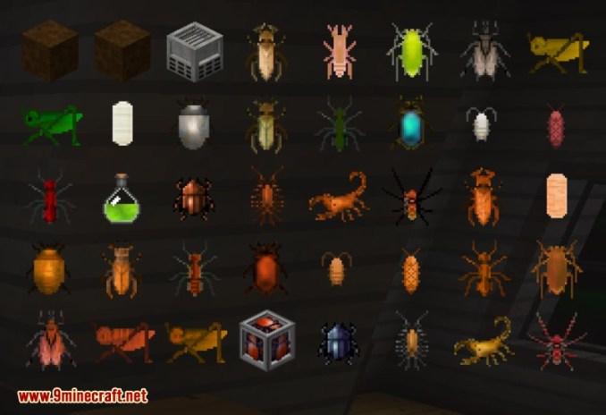 Edible Bugs Mod 4