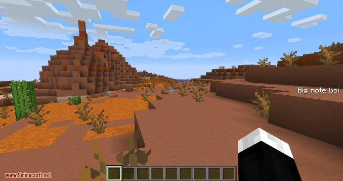 Notes mod for minecraft 04