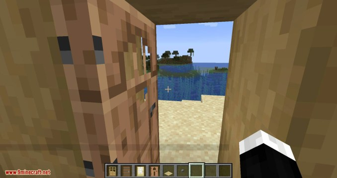 Automatic Door mod for minecraft 05