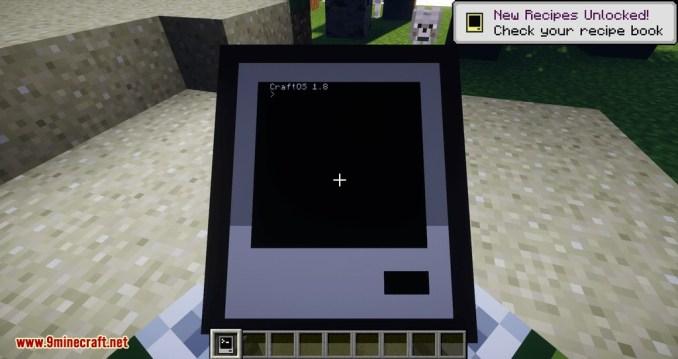 CC Tweaked mod for minecraft 01