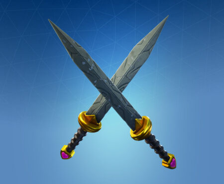 Fortnite Cupid's Daggers Harvesting Tool - Full list of cosmetics : Fortnite Royale Hearts Set | Fortnite skins.