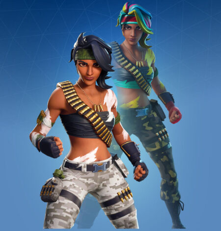 Fortnite Bandolette Skin - Full list of cosmetics : Fortnite Tropic Troopers Set | Fortnite skins.