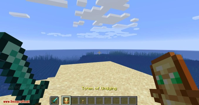 Hide Hands mod for minecraft 05