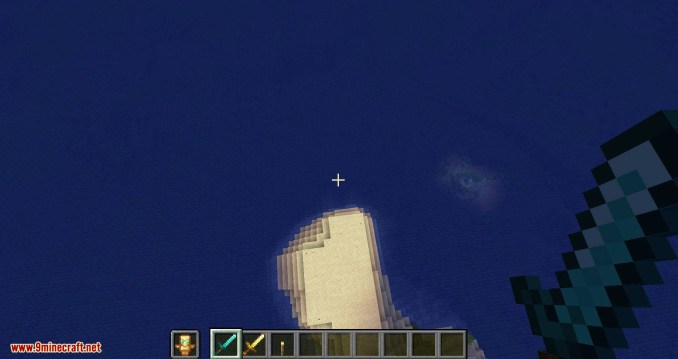 Hide Hands mod for minecraft 10