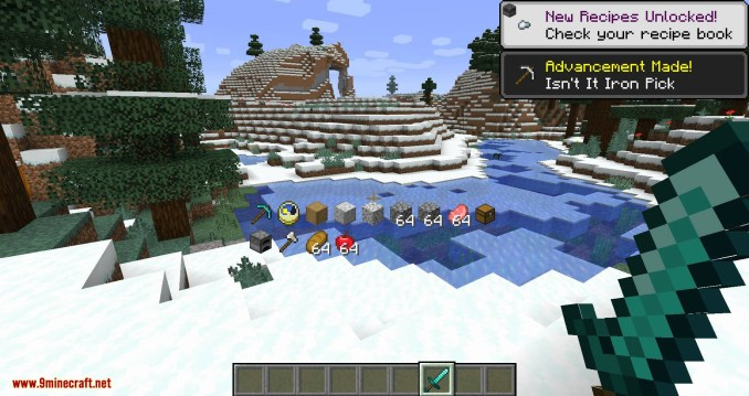 Inventory HUD+ mod for minecraft 04