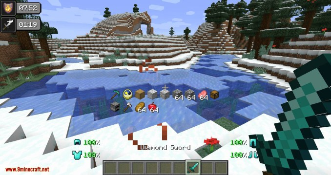 Inventory HUD+ mod for minecraft 10