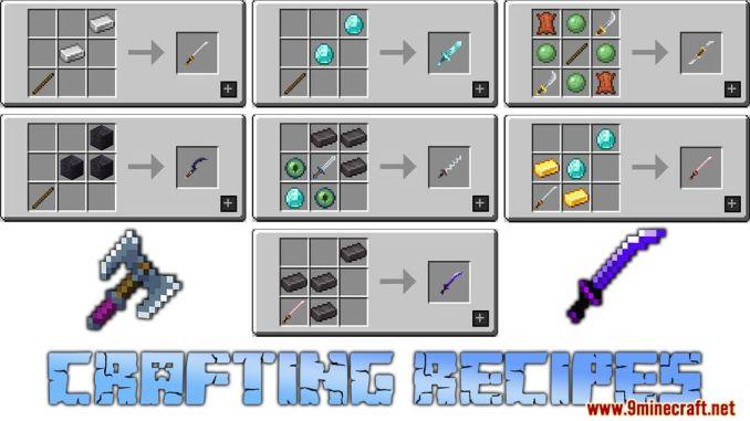 MC Dungeon Weapons Mod Screenshots 23