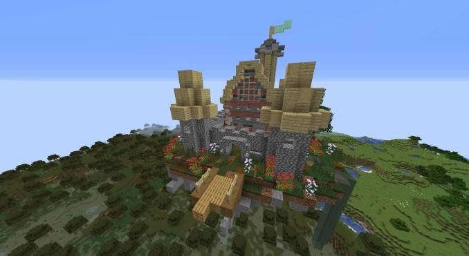 Mo_ Structures mod for minecraft 22