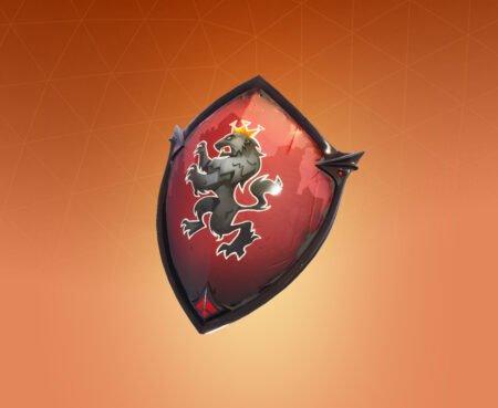 Fortnite Red Shield Back Bling
