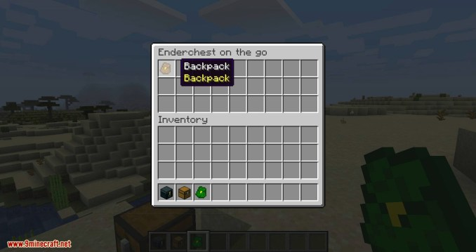 Simple Backpack mod for minecraft 06