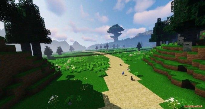 World of Minecraft Resource Pack Screenshots 1