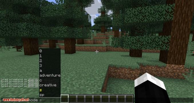 GamemodeOverhaul mod for minecraft 05
