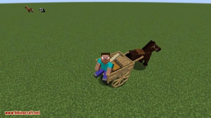 Horse Carts Mod Screenshots 6