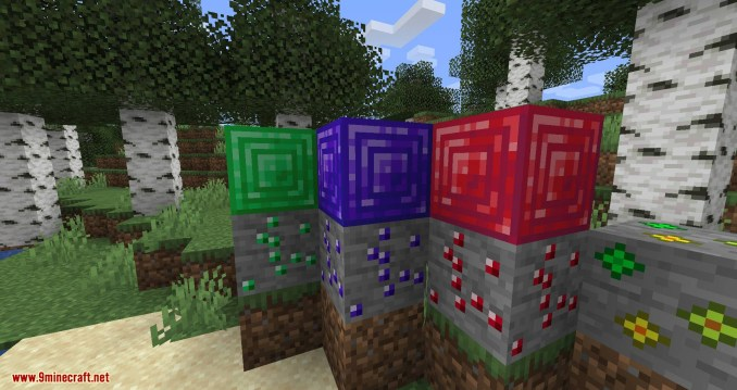 More Ore in ONE mod for minecraft 04