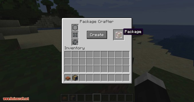 Packages mod for minecraft 10