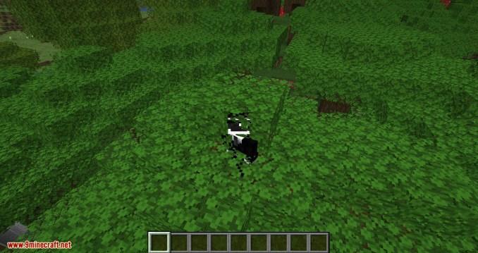 Passable Foliage mod for minecraft 04