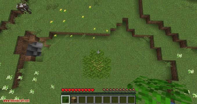 Passable Foliage mod for minecraft 08