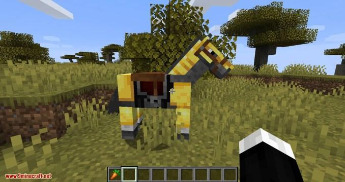 Stupid Horse Stand Still mod for minecraft 10