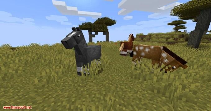 Stupid Horse Stand Still mod for minecraft 01