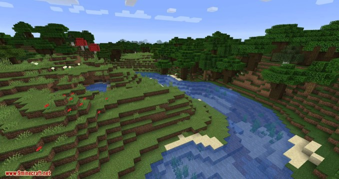 Connected Glass mod for minecraft 04