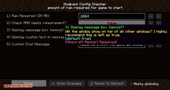 Modpack Config Checker mod for minecraft 05