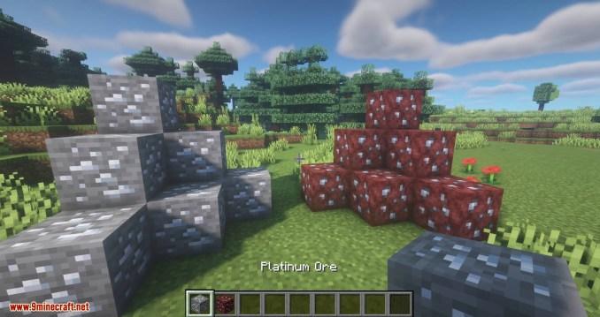 Simply Platinum mod for minecraft 01