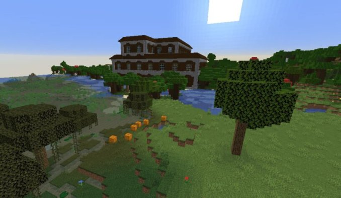 Woodland Mansion at Spawn Seed