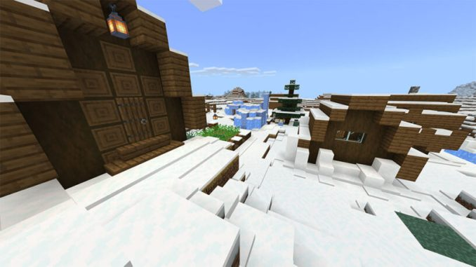 Snow Village w/Igloos (Bedrock - 1.15+)