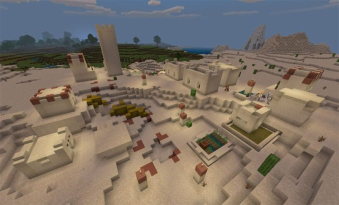 Desert Village & Much More (Bedrock - 1.14+)