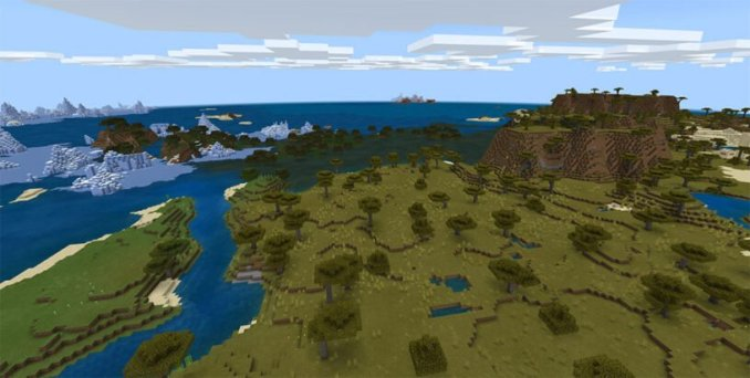 Tons of Biomes Close Together Seed