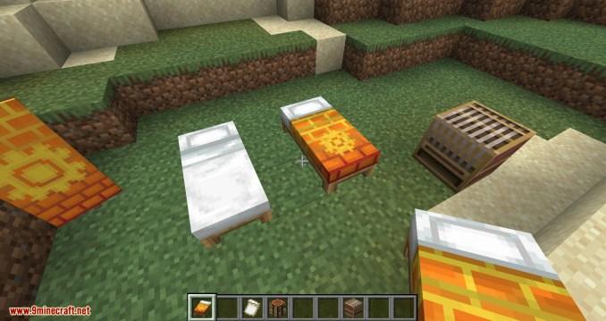 Bedspreads mod for minecraft 06