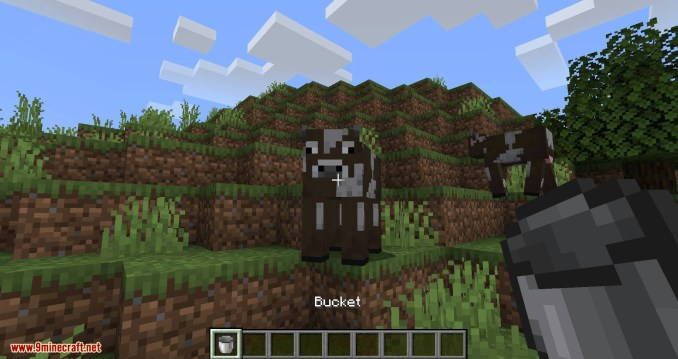 Milk All The Mobs mod for minecraft 02