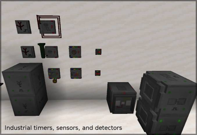 Redstone Gauges and Switches mod for minecraft 23