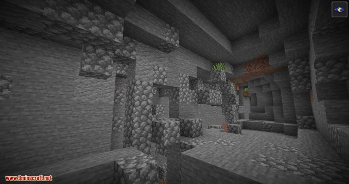 Cave Biomes mod for minecraft 02
