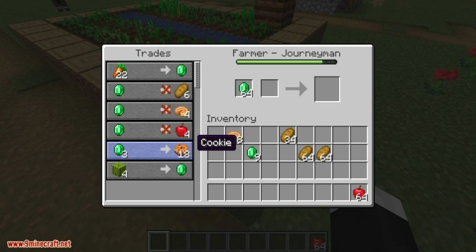 EasierVillagerTrading mod for minecraft 07