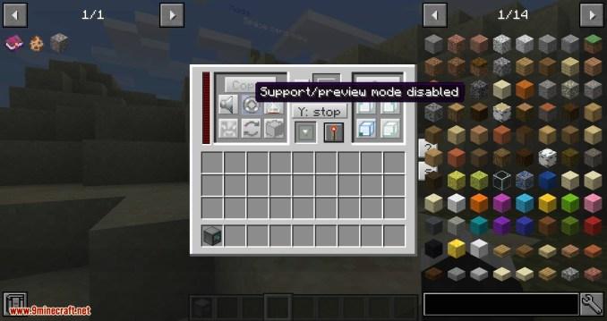 RFTools Builder mod for minecraft 02