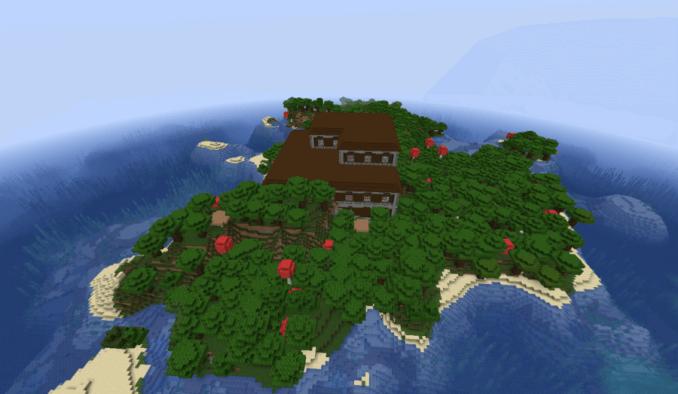 Spawn Inside a Woodland Mansion - Top 10 Best Minecraft Woodland Mansion Seeds for 1.16 (Java & Bedrock)