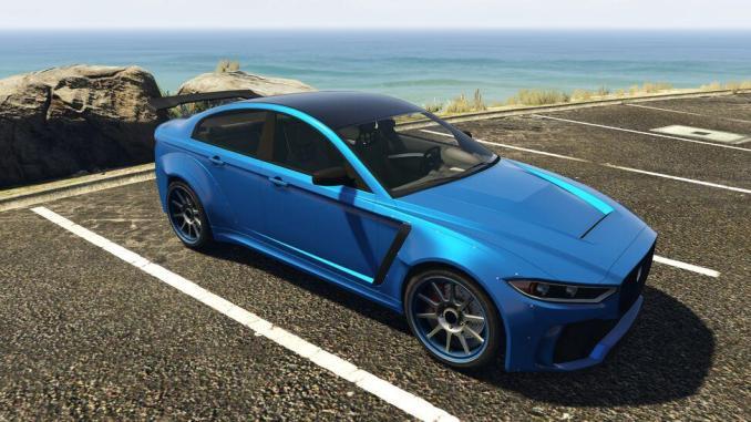 18. Ocelot Jugular - 20 Fastest Cars in GTA Online & Grand Theft Auto V ( 2021)