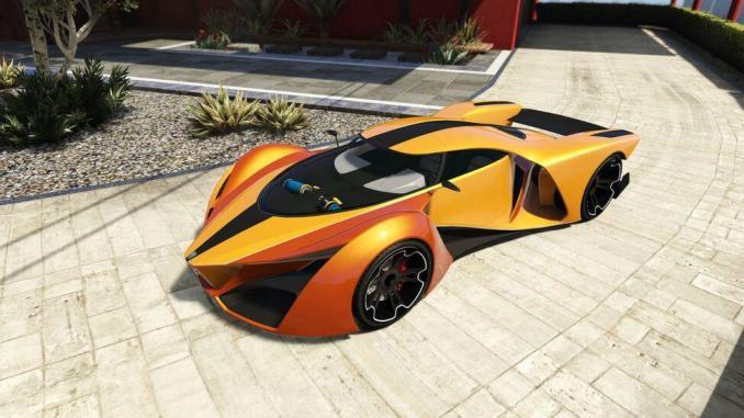 10. Grotti X80 Proto - 20 Fastest Cars in GTA Online & Grand Theft Auto V ( 2021)