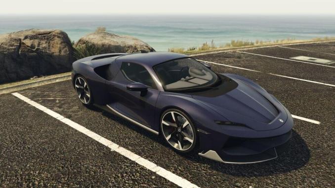2. Grotti Itali RSX - 20 Fastest Cars in GTA Online & Grand Theft Auto V ( 2021)