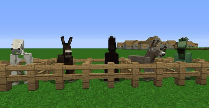 MINECRAFT TAMEABLE PASSIVE MOBS - List of Minecraft mobs and Minecraft monster (2021)