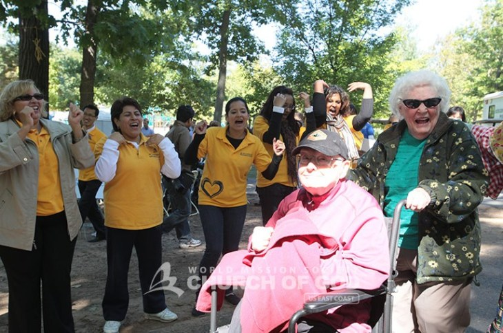 Bergen County Senior Picnic, world mission society church of god, paramus, board of chosen freeholders, senior citizens, chris christie, hurricane sandy, yellow shirts,